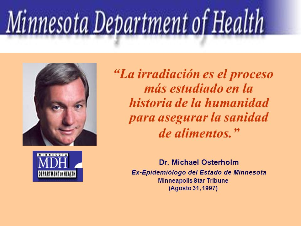 Ex-Epidemiólogo del Estado de Minnesota Minneapolis Star Tribune