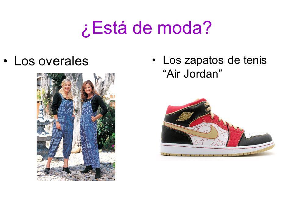 ¿Está de moda Los overales Los zapatos de tenis Air Jordan