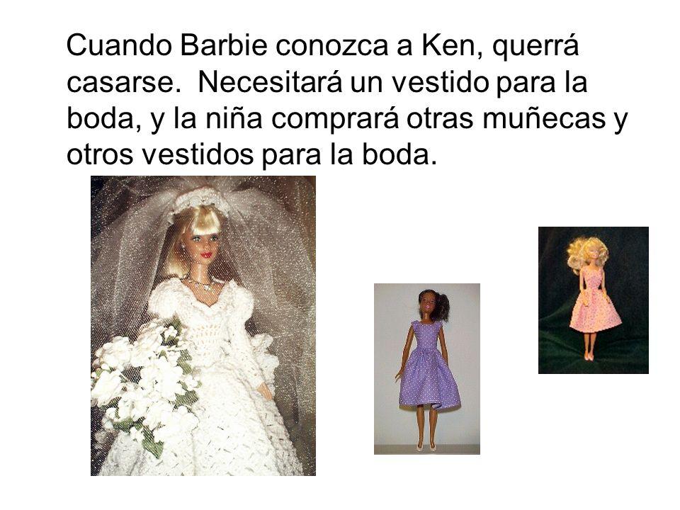 Cuando Barbie conozca a Ken, querrá casarse