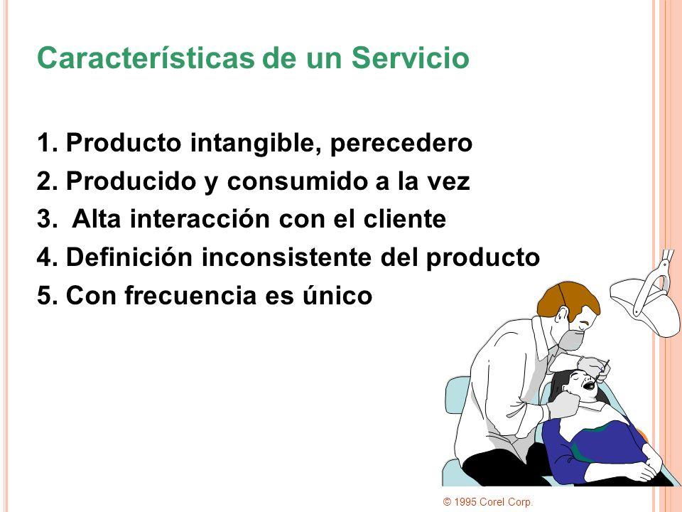 Características de un Servicio