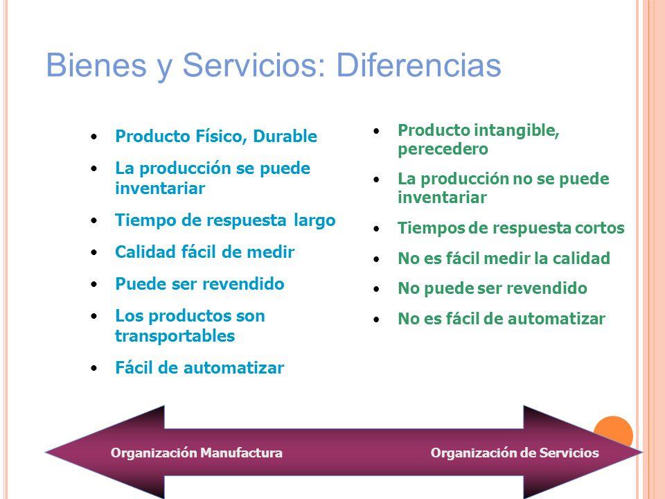 Bienes y Servicios: Diferencias