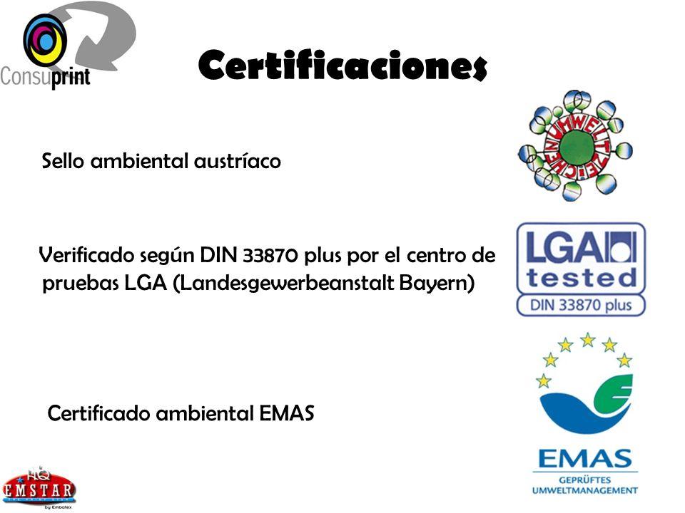 Certificaciones Sello ambiental austríaco