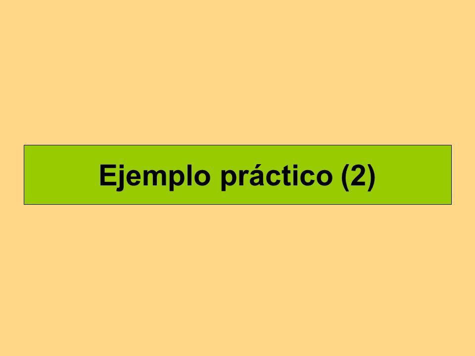 Ejemplo práctico (2)