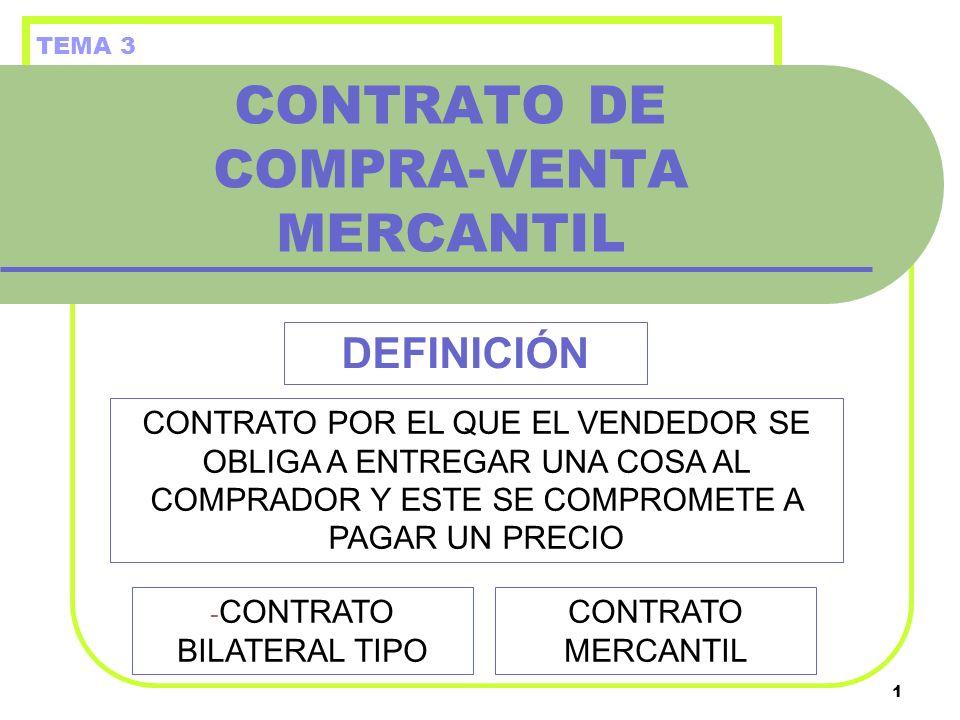 CONTRATO DE COMPRA-VENTA MERCANTIL