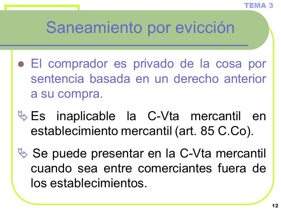 Saneamiento por evicción