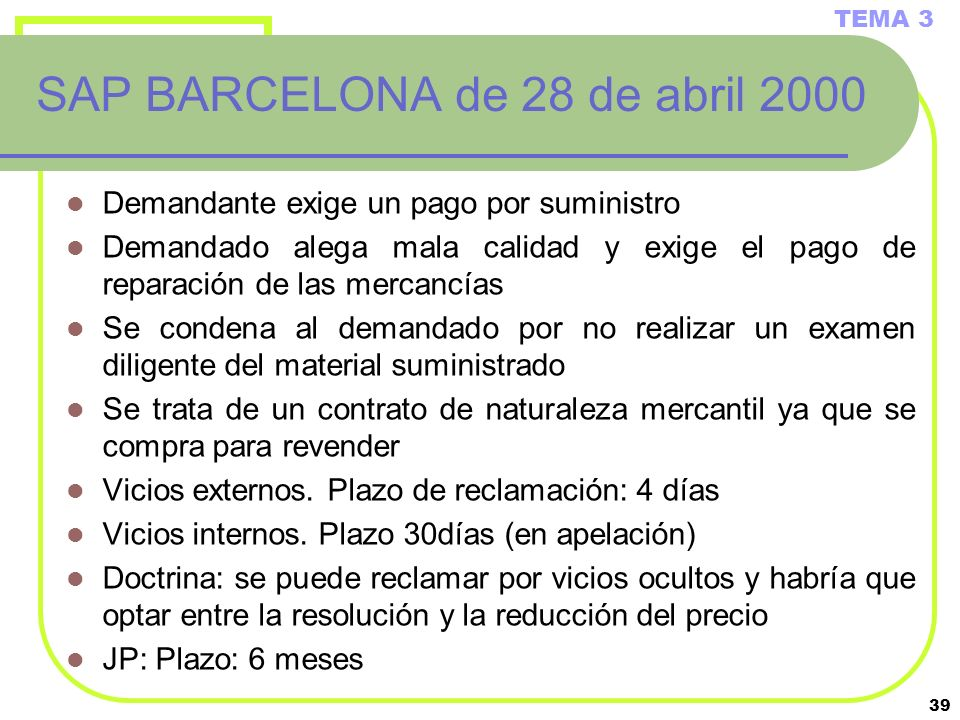 SAP BARCELONA de 28 de abril 2000