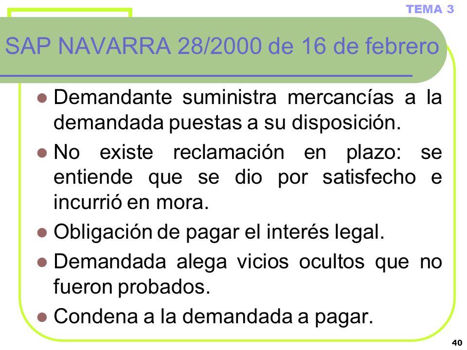 SAP NAVARRA 28/2000 de 16 de febrero