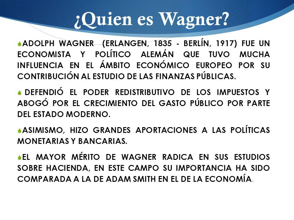 ¿Quien es Wagner