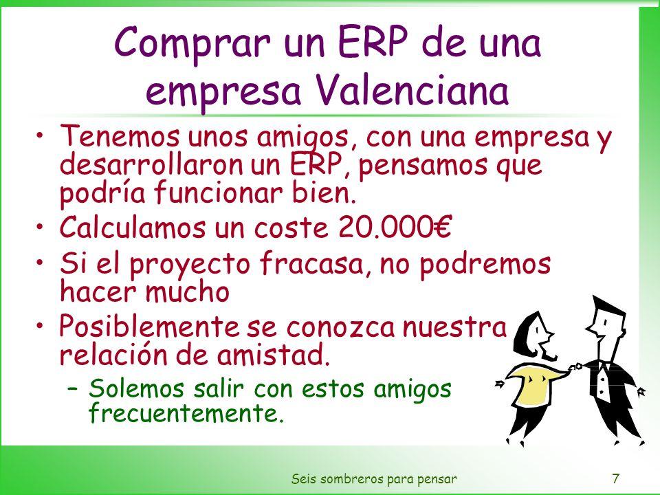 Comprar un ERP de una empresa Valenciana