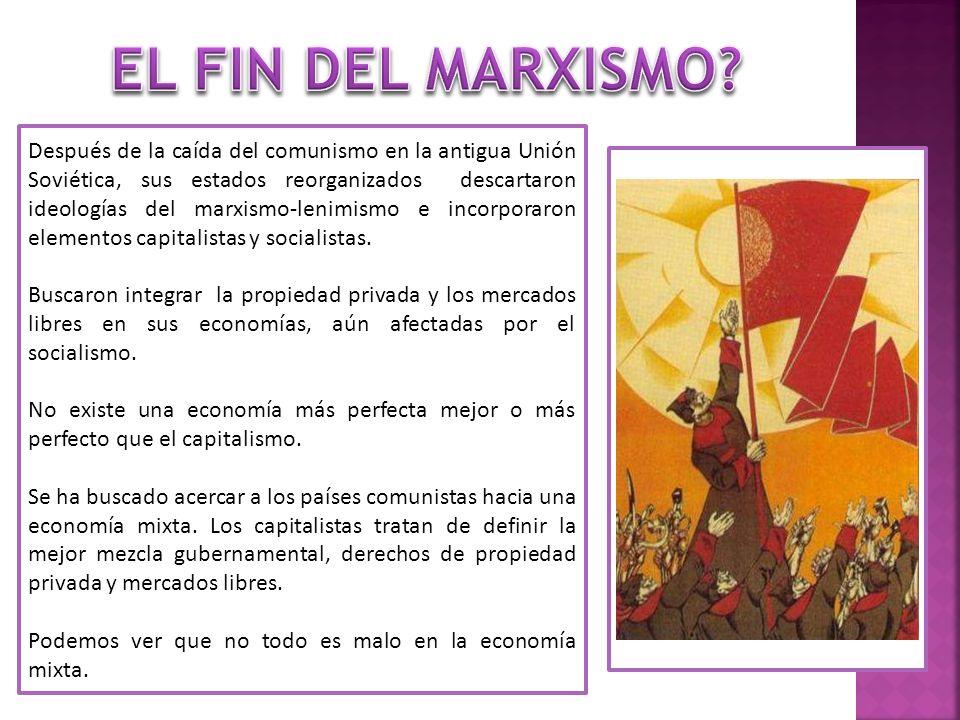 EL FIN DEL MARXISMO