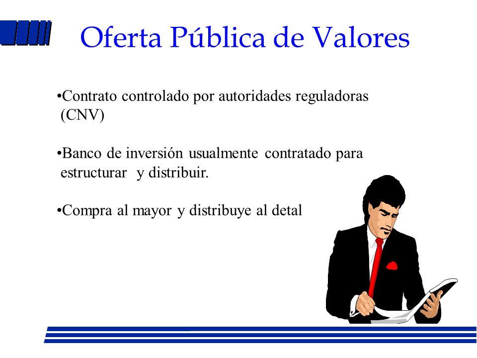 Oferta Pública de Valores