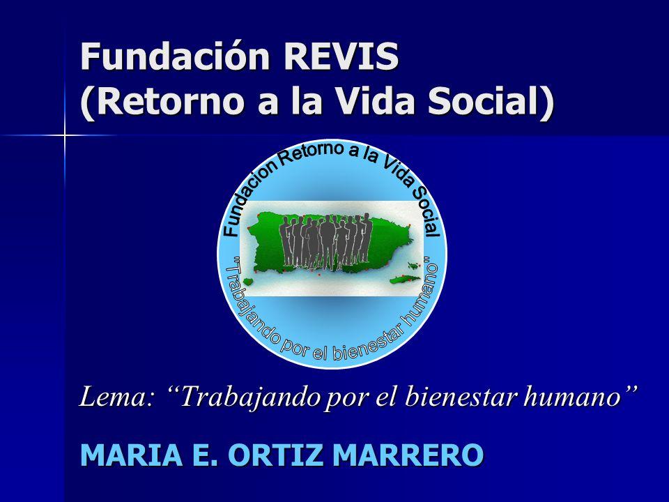 Fundación REVIS (Retorno a la Vida Social)