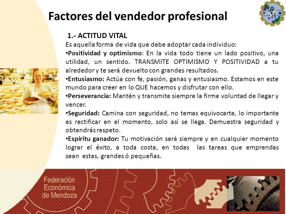Factores del vendedor profesional