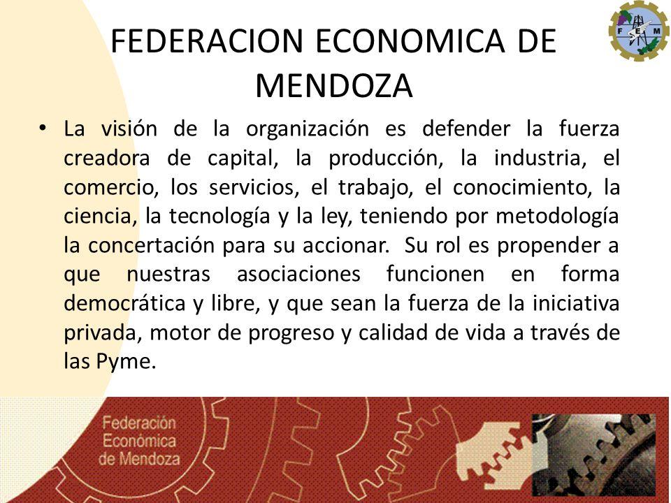 FEDERACION ECONOMICA DE MENDOZA