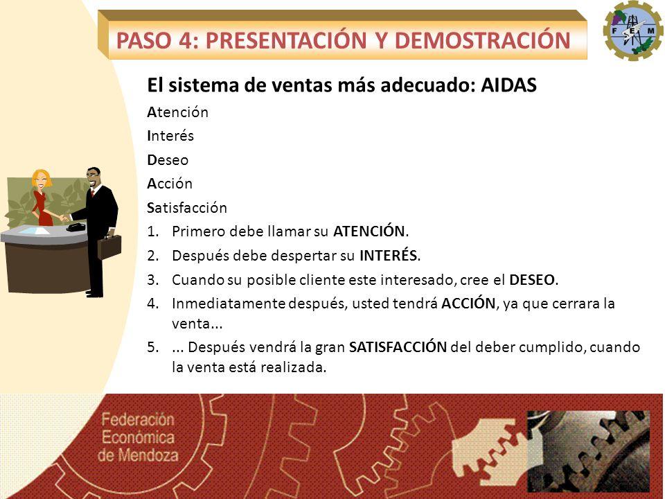 PASO 4: PRESENTACIÓN Y DEMOSTRACIÓN