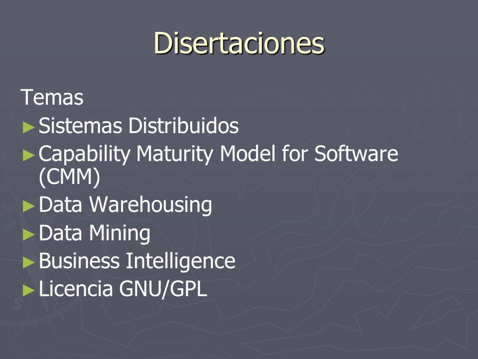 Disertaciones Temas Sistemas Distribuidos