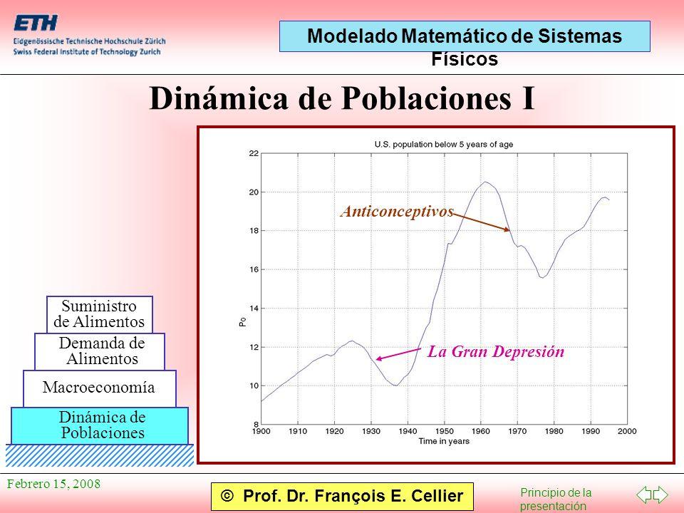 Dinámica de Poblaciones I