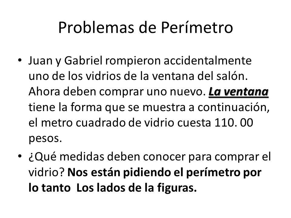 Problemas de Perímetro