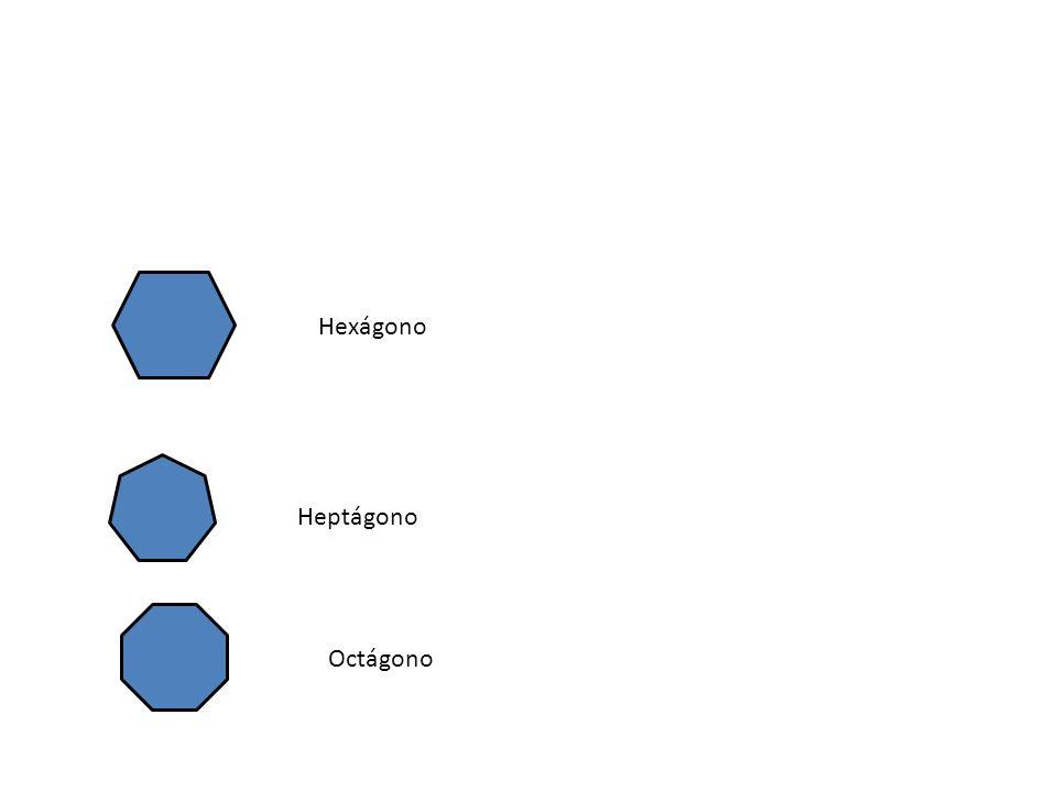 Hexágono Heptágono Octágono