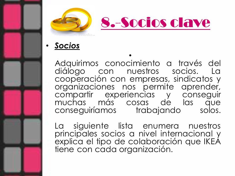 8.-Socios clave Socios.