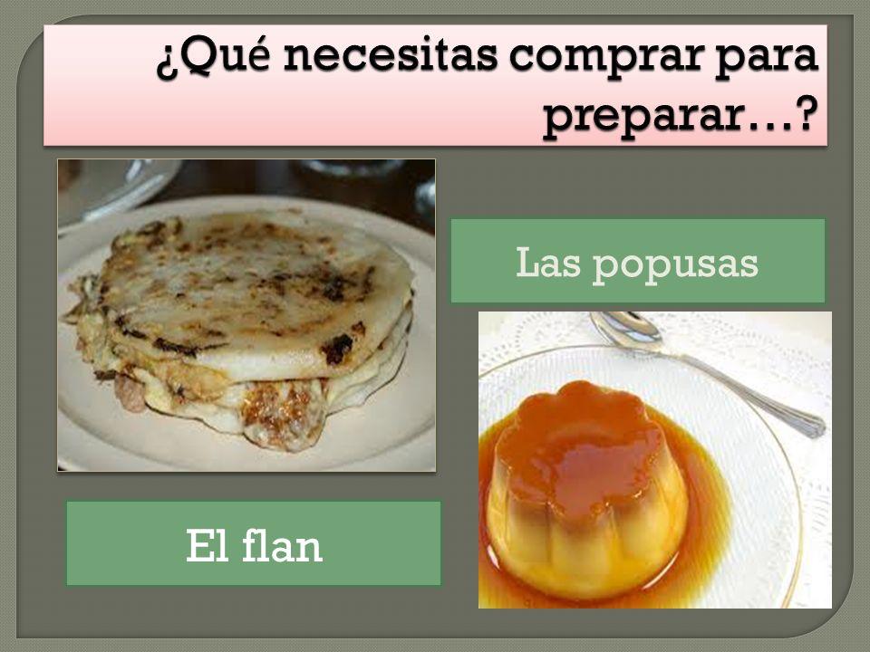 ¿Qué necesitas comprar para preparar…