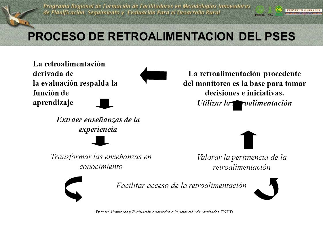 PROCESO DE RETROALIMENTACION DEL PSES