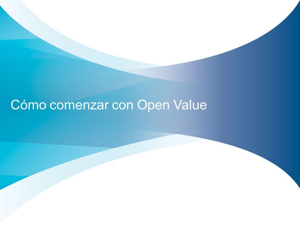 Cómo comenzar con Open Value