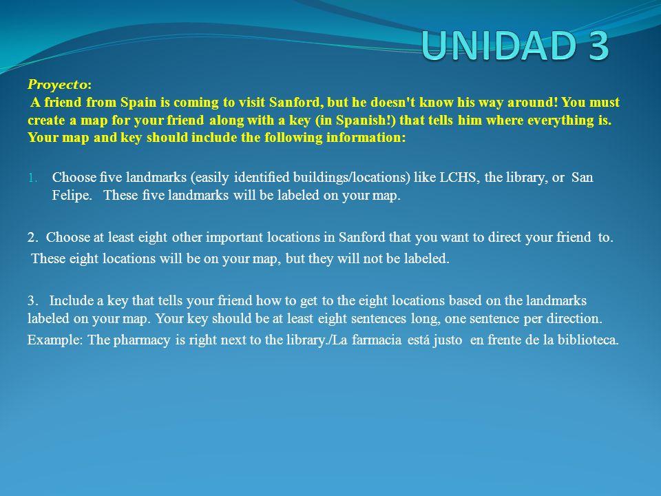 UNIDAD 3 Proyecto: