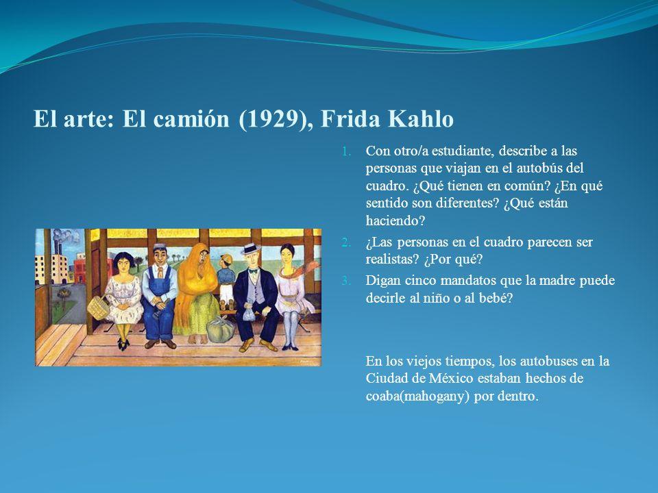 El arte: El camión (1929), Frida Kahlo