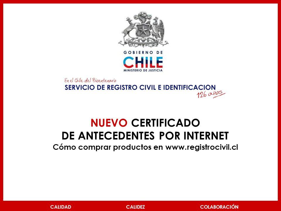NUEVO CERTIFICADO DE ANTECEDENTES POR INTERNET