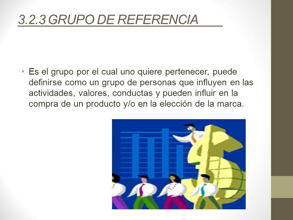 3.2.3 GRUPO DE REFERENCIA