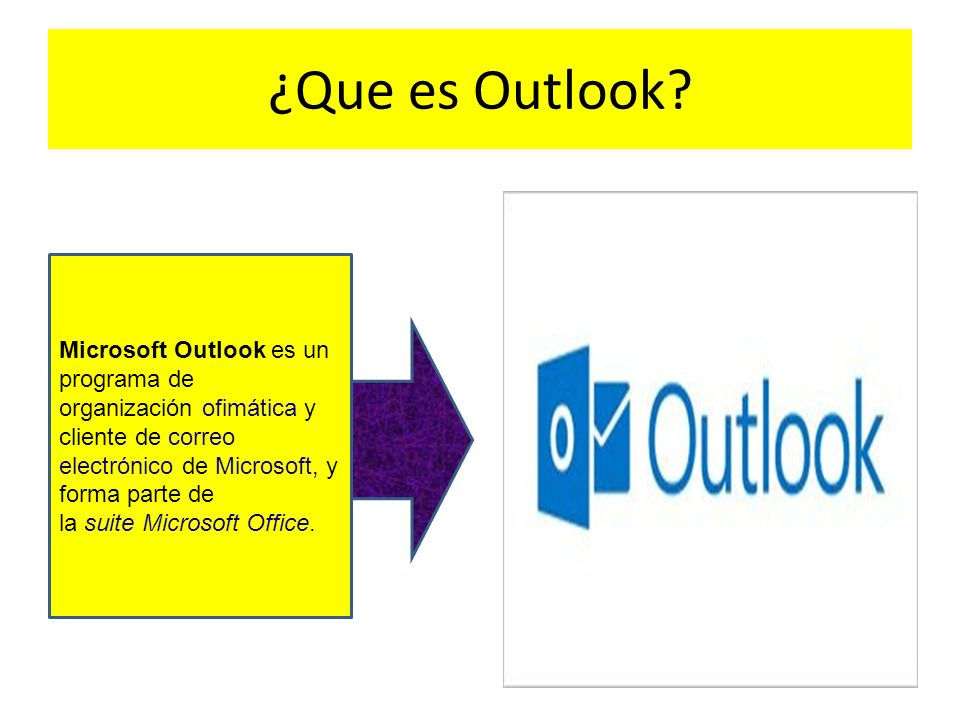 ¿Que es Outlook