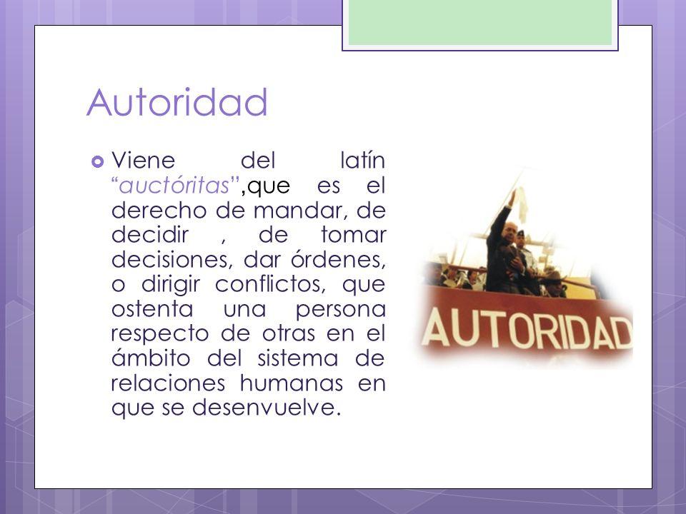 Autoridad