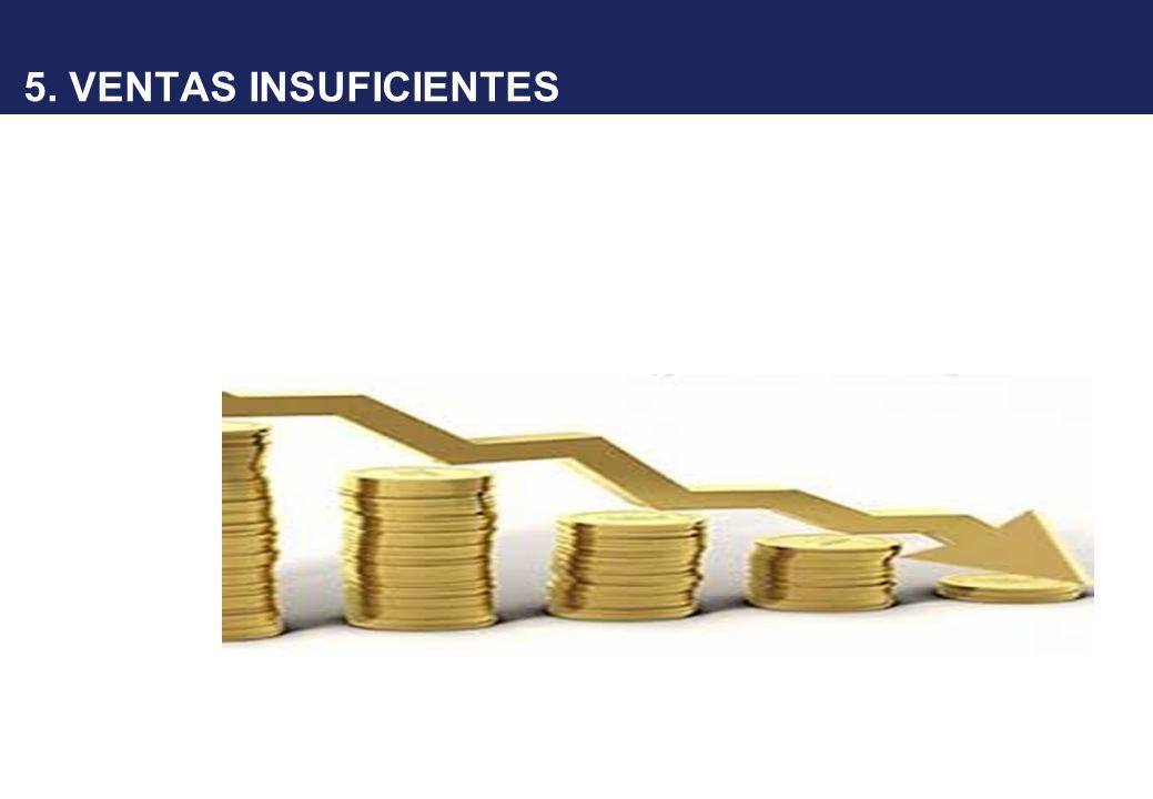 5. VENTAS INSUFICIENTES