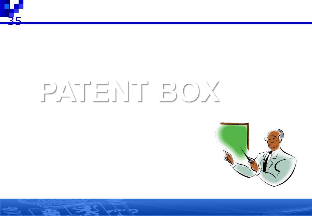 35 PATENT BOX 35 35