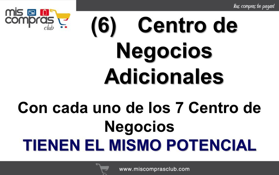 (6) Centro de Negocios Adicionales