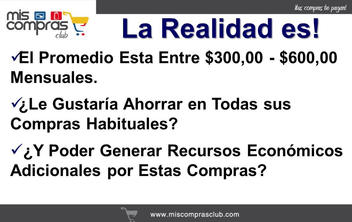 La Realidad es! El Promedio Esta Entre $300,00 - $600,00 Mensuales.