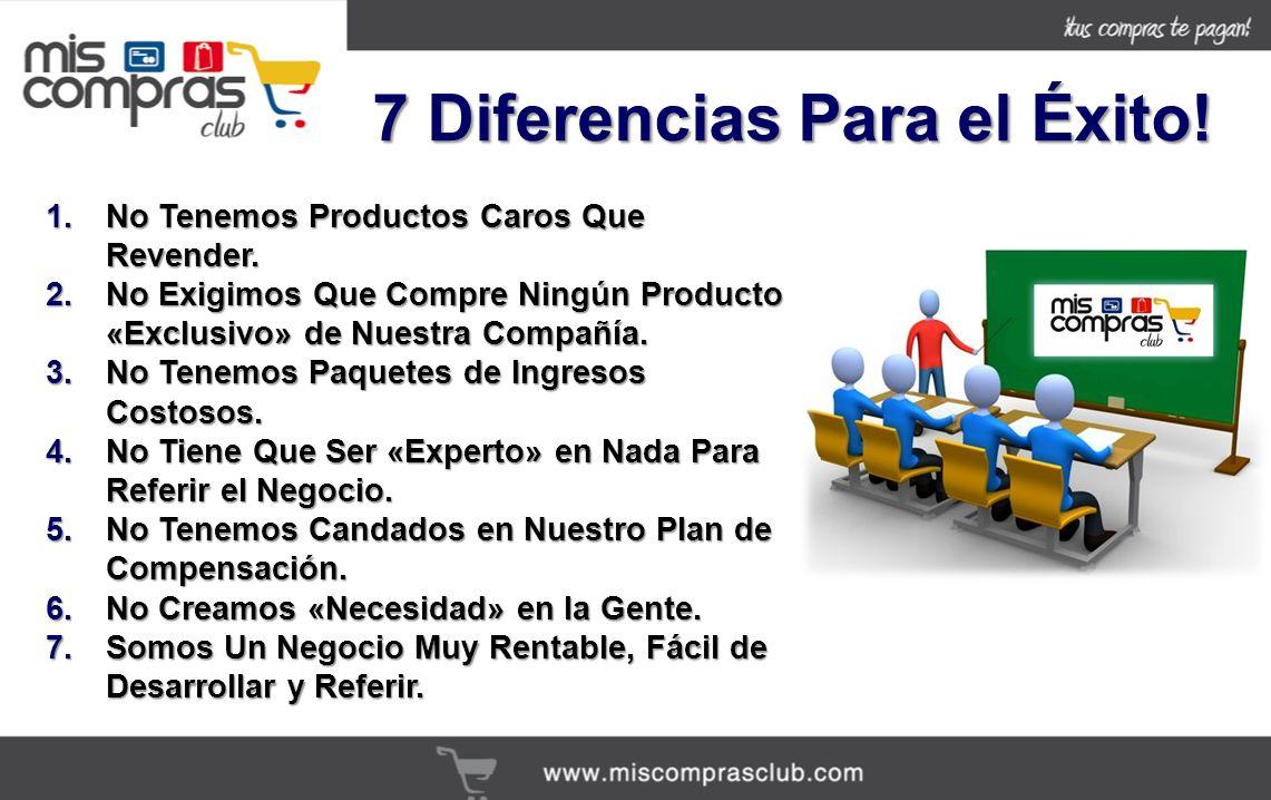 7 Diferencias Para el Éxito!