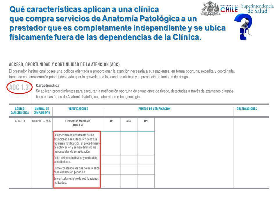 Qué características aplican a una clínica
