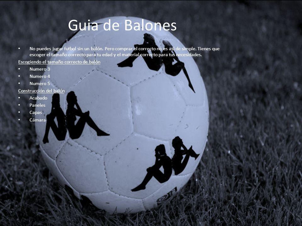 Guia de Balones