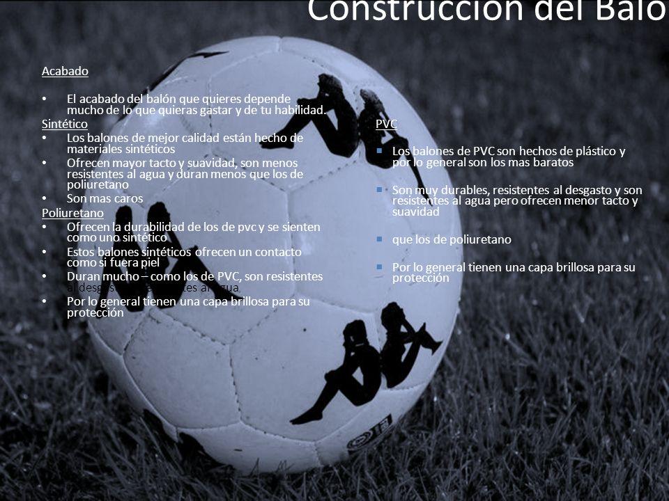 Construcción del Balón