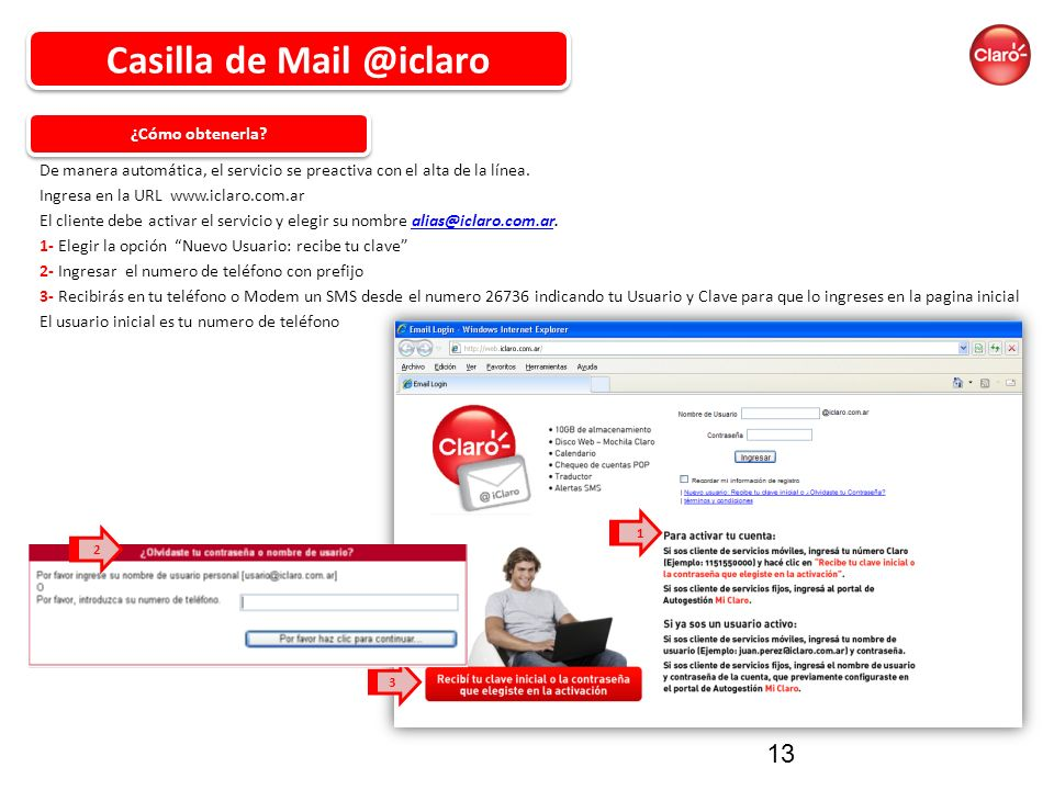 Casilla de Mail @iclaro