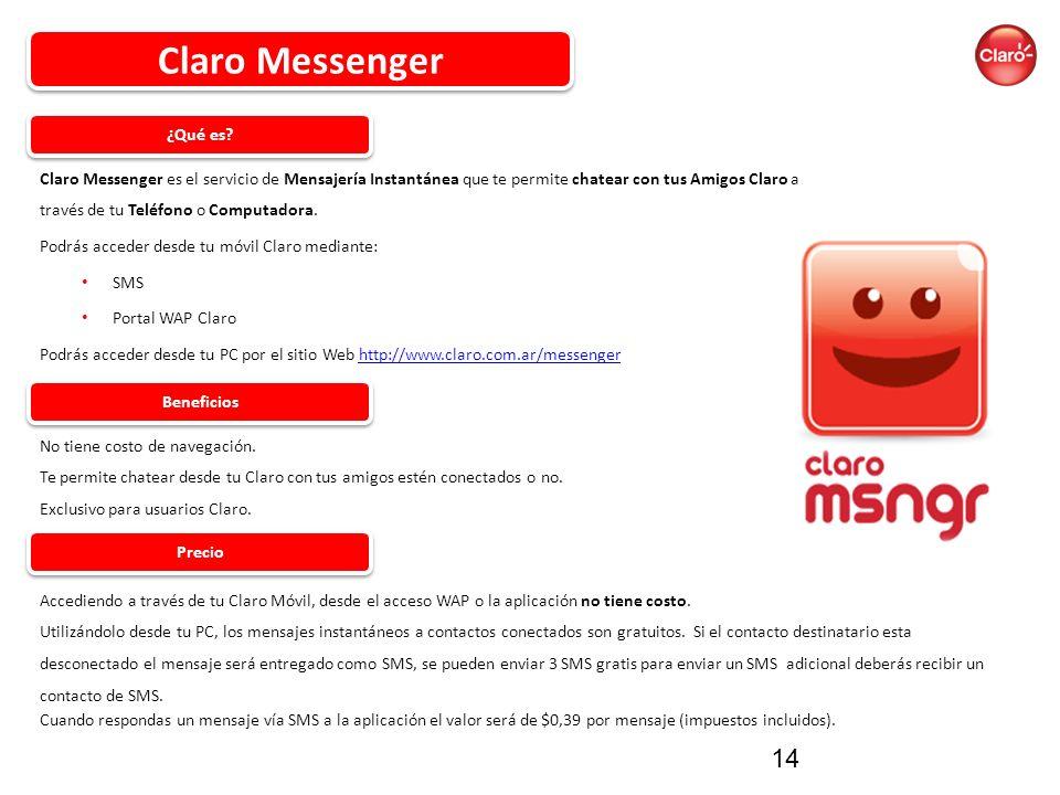 Claro Messenger ¿Qué es