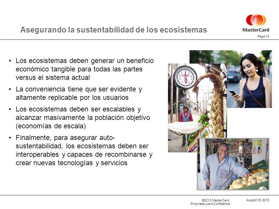 Asegurando la sustentabilidad de los ecosistemas