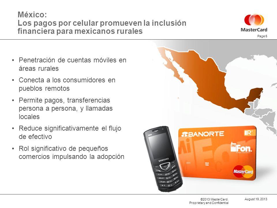 29 de marzo de 2017 México: Los pagos por celular promueven la inclusión financiera para mexicanos rurales.