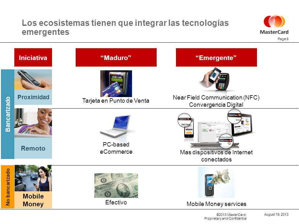 Los ecosistemas tienen que integrar las tecnologías emergentes