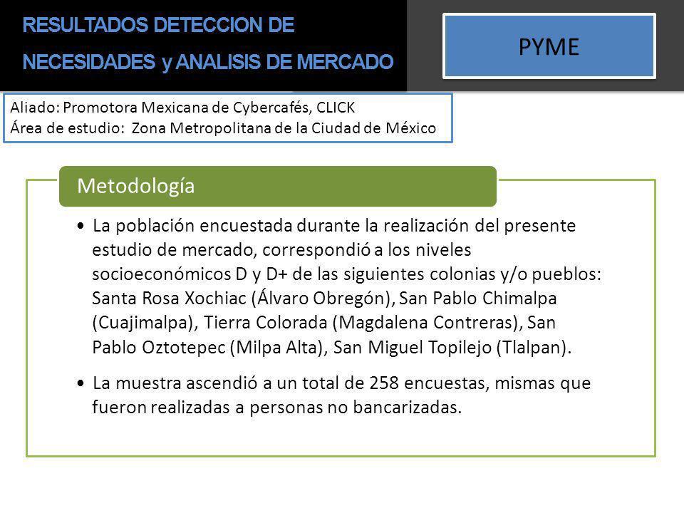 RESULTADOS DETECCION DE NECESIDADES y ANALISIS DE MERCADO