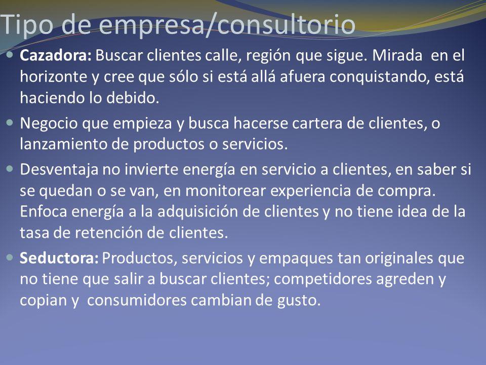 Tipo de empresa/consultorio