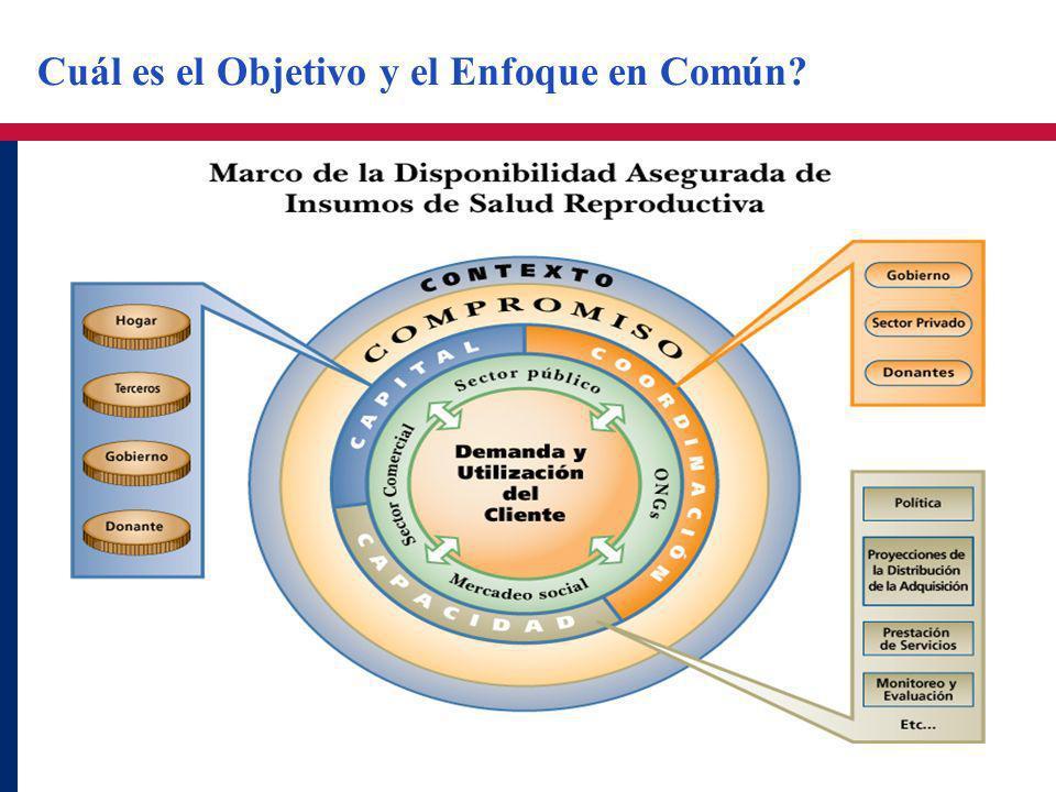 Cuál es el Objetivo y el Enfoque en Común