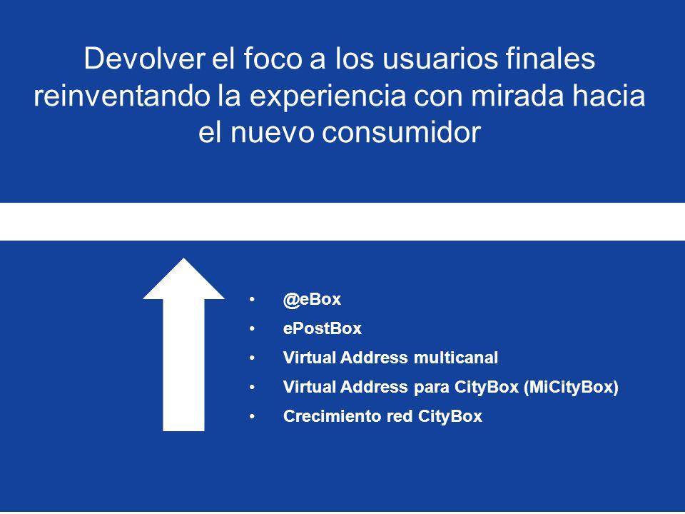 Devolver el foco a los usuarios finales reinventando la experiencia con mirada hacia el nuevo consumidor